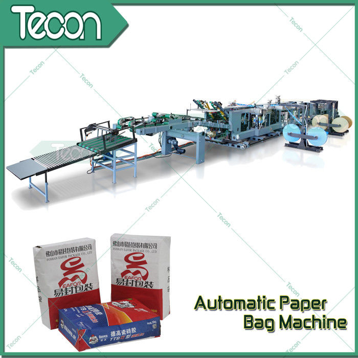 Professional 2-5 Ply of Kraft Paper Bag Making Machines With Big Production Plant